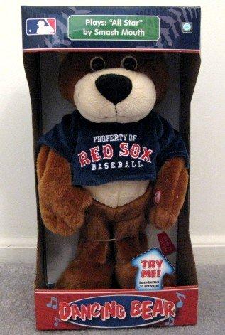 Boston Red Sox Musical Dancing Bear Plays All-Star Cute Gift