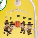 Boston Celtics Musical Baby Crib Mobile Basketball Gift
