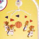 Detroit Pistons Musical Baby Crib Mobile Basketball Gift