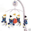Indiana Pacers Musical Baby Crib Mobile Basketball Gift