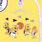 Sacramento Kings Musical Baby Crib Mobile Basketball Gift