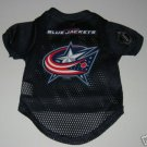 Columbus Blue Jackets Pet Dog Hockey Jersey Gift Size Large