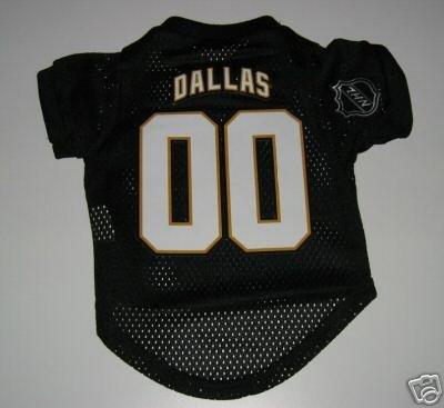 Dallas Stars Pet Dog Hockey Jersey Gift Size Small