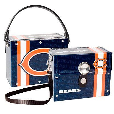 Chicago Bears Littlearth Fanatic License Plate Purse Bag Gift