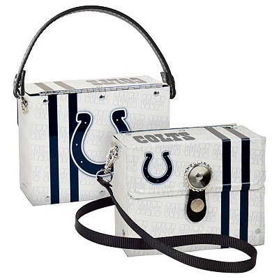 Indianapolis Colts Littlearth Fanatic License Plate Purse Bag Gift