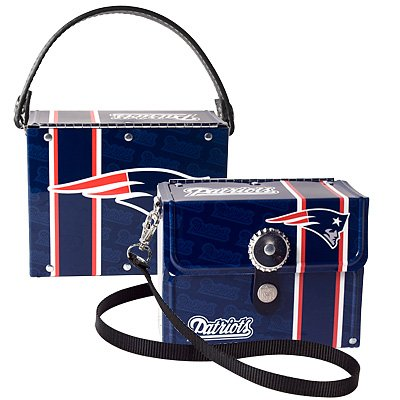 New England Patriots Littlearth Fanatic License Plate Purse Handbag