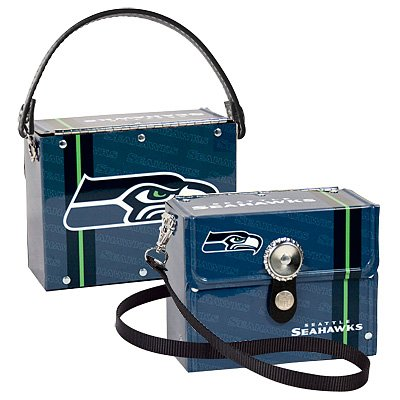 Seattle Seahawks Littlearth Fanatic License Plate Purse Bag Gift