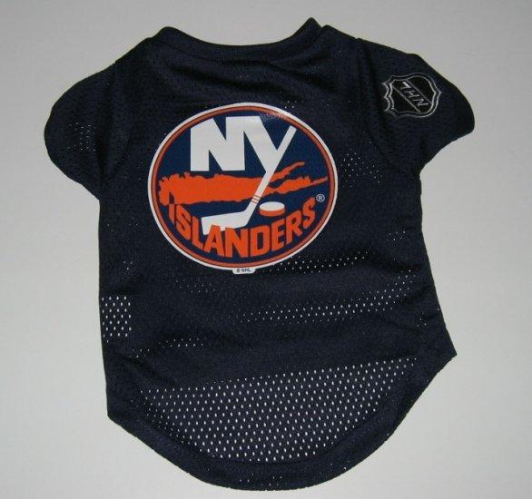 New York Islanders Pet Dog Hockey Jersey Gift Size Large
