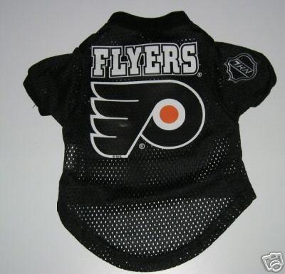 Philadelphia Flyers Pet Dog Hockey Jersey Gift Size XL