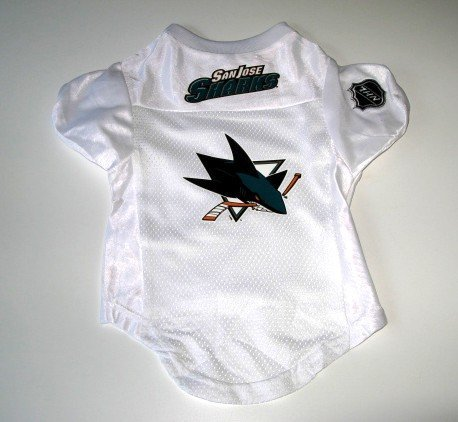 San Jose Sharks Pet Dog Hockey Jersey Premium Large Gift