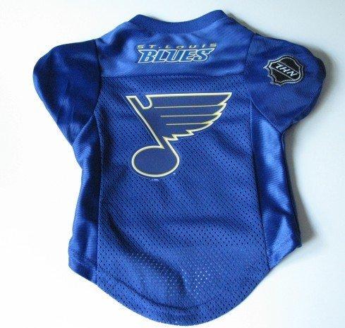 St. Louis Blues Pet Dog Hockey Jersey Premium Medium Gift