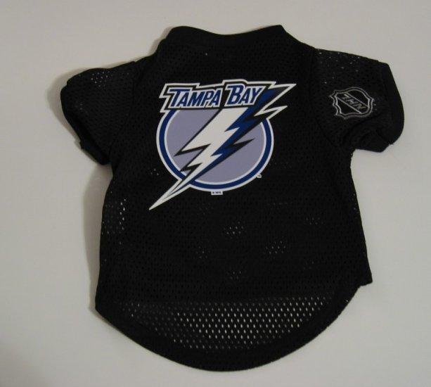 Tampa Bay Lightning Pet Dog Hockey Jersey Gift Size Large