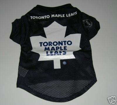 Toronto Maple Leafs Pet Dog Hockey Jersey Gift Size XL