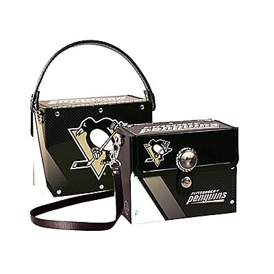Pittsburgh Penguins Littlearth Fanatic License Plate Purse Bag Gift