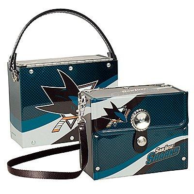 San Jose Sharks Littlearth Fanatic License Plate Purse Bag Gift