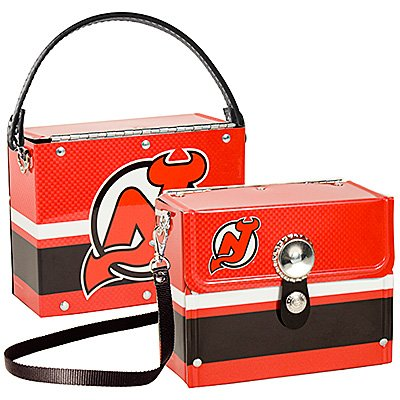 New Jersey Devils Fanatic License Plate Purse Bag