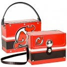 New Jersey Devils Fanatic License Plate Purse Bag