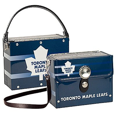 Toronto Maple Leafs Littlearth Fanatic License Plate Purse Bag Gift