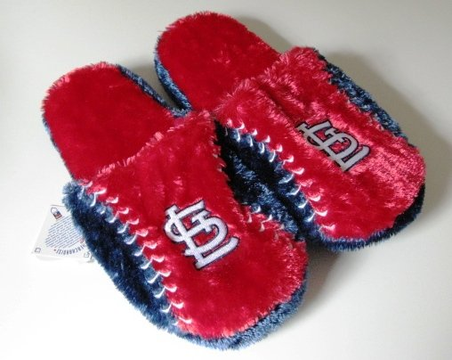 St. Louis Cardinals Ball Slide Slippers Gift Large