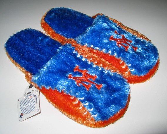 NY New York Mets Ball Slide Slippers Gift Large