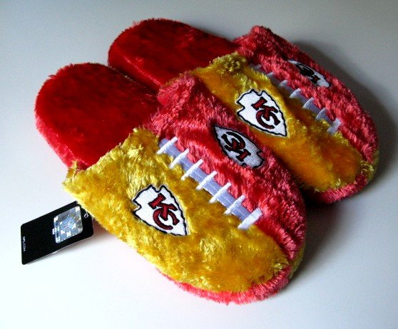 Kansas City Chiefs Football Himo Slide Slippers Gift Small