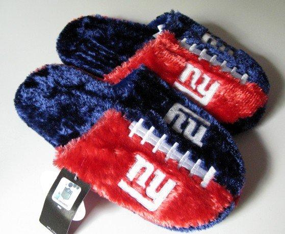 NY New York Giants Football Himo Slide Slippers Gift XL