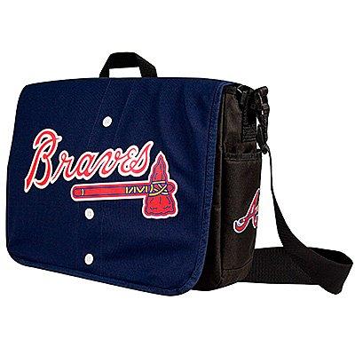 Atlanta Braves Littlearth Baseball Jersey Messenger Bag Gift