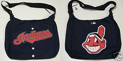 Cleveland Indians Littlearth Home Run Baseball Jersey Tote Bag Gift