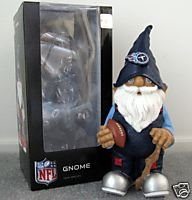 Tennessee Titans Football Garden Gnome Figure Indoor/Outdoor Gift