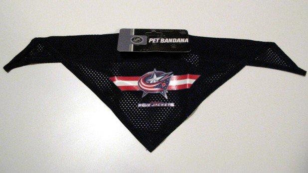 Columbus Blue Jackets Pet Dog Hockey Jersey Bandana S/M
