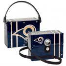 St. Louis Rams Littlearth Fanatic License Plate Purse Bag Gift