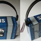 Detroit Lions Littlearth Fanatic License Plate Purse Bag Gift