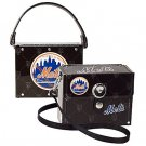 NY New York Mets Littlearth Fanatic License Plate Purse Bag Gift