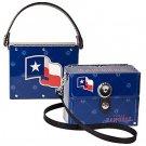 Texas Rangers Littlearth Fanatic License Plate Purse Bag Gift
