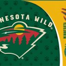 Minnesota Wild Dog Pet Food/Water Padded Mat Placemat Gift