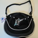 Florida Marlins Littlearth CAPtivate Small Hobo Bag Purse