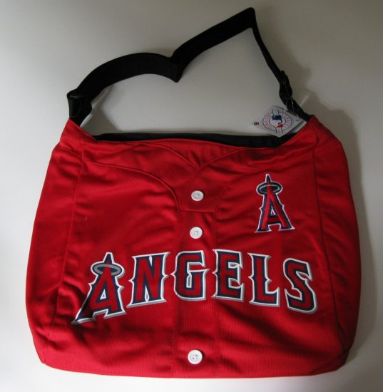 Los Angeles Angels Littlearth Baseball Jersey Tote Bag Purse