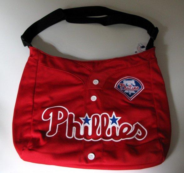 Philadelphia Phillies Littlearth Baseball Jersey Tote Bag Purse