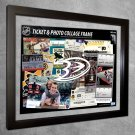 Anaheim Ducks Floating Photo and Ticket Collage Frame