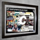 Calgary Flames Floating Photo and Ticket Collage Frame