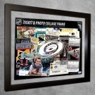 Carolina Hurricanes Floating Photo and Ticket Collage Frame