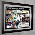 Dallas Stars Floating Photo and Ticket Collage Frame
