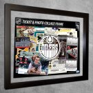 Edmonton Oilers Floating Photo and Ticket Collage Frame