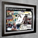New Jersey Devils Floating Photo and Ticket Collage Frame