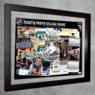Vancouver Canucks Floating Photo and Ticket Collage Frame