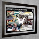 Washington Capitals Floating Photo and Ticket Collage Frame