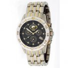 Green Bay Packers GameTime Legend Diamond and Steel Watch GIFT