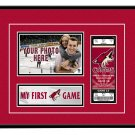Phoenix Coyotes My First Game Hockey Ticket Photo Frame