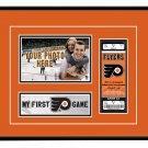 Philadelphia Flyers My First Game Hockey Ticket Photo Frame