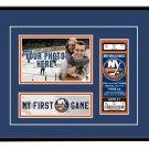 New York Islanders My First Game Hockey Ticket Photo Frame